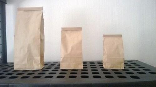 bolsa papel craft con alambre 1 kg