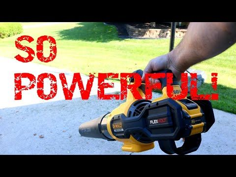 One Of The Most Powerful Cordless Leaf Blowers On The Market