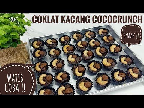 Coklat Kacang Cococrunch Kue Lebaran No Oven No Kukus Youtube Kacang Coklat Kue Lebar