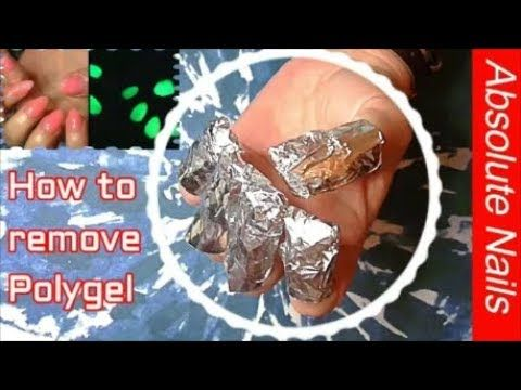 How To Remove Polygel The Easy Way Redesign Glow In The Dark Absolute Nails Youtube Glow In The Dark Nails How To Remove