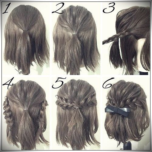 Easy Hairstyles 2019 Step By Step Tutoriels Coiffure Coiffure De Bal Coiffure Facile