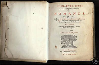 1646 First Edition Apostle Paul's Letter