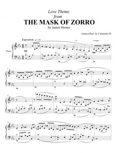 The Mask Of Zorro Song Download :: Dragonsfootball17