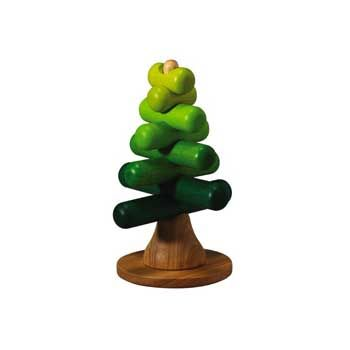 Stacking Tree. G loves this one and plays with it a lot.  Plan Toys
