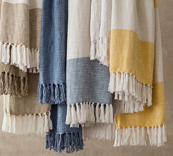 Awning Stripe Throw Striped Throw Striped Throw Blanket Comforters Cozy