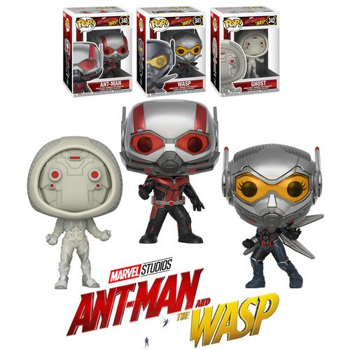POP 7 Brand New In Box Ant-Man /& The Wasp POP Marvel Funko
