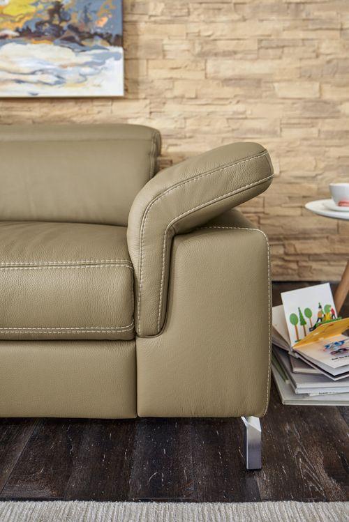Global Almeria mit klappbarer Armlehne - gemütlich und komfortabel - wohnzimmer couch gemutlich