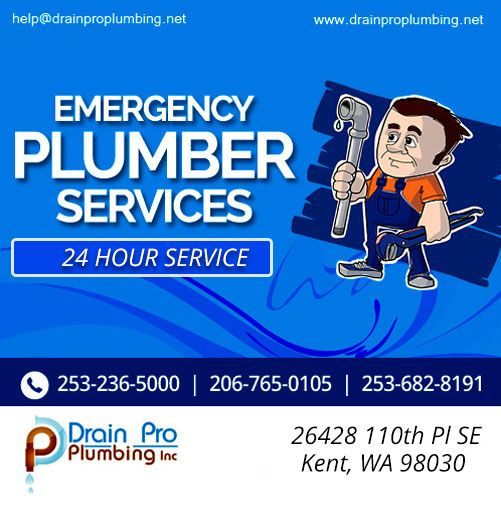 Call Us Today At 253 236 5000 206 765 0105 Or Email Us At Help Drainproplumbing Net For A Free Consultation Or An Estimat Plumbing Emergency Plumbing Plumber