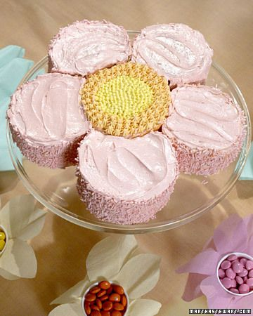 Flower cake...Easter or Birthday Party?