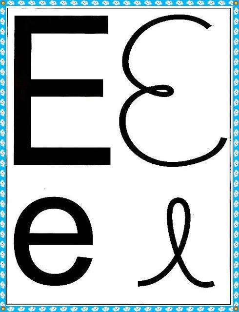 Alfabeto Com Maiusculas De Minusculas De Forma E De Mao Alfabeto