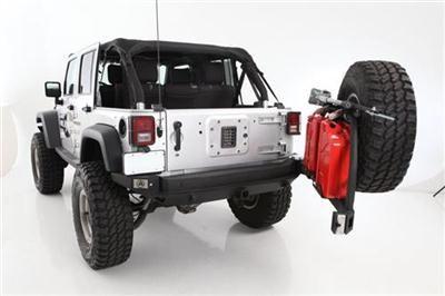 Smittybilt XRC Atlas Rear Bumper 07-13 Jeep Wrangler JK