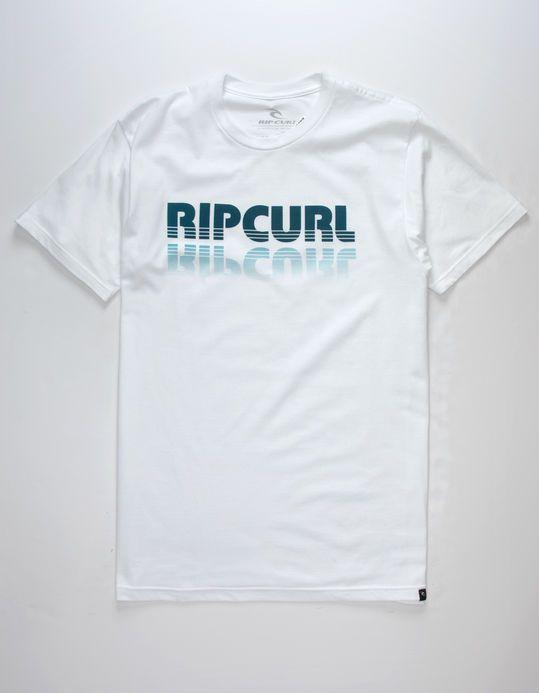 Rip Curl Mens Stacked Mock Twist Tee Shirt