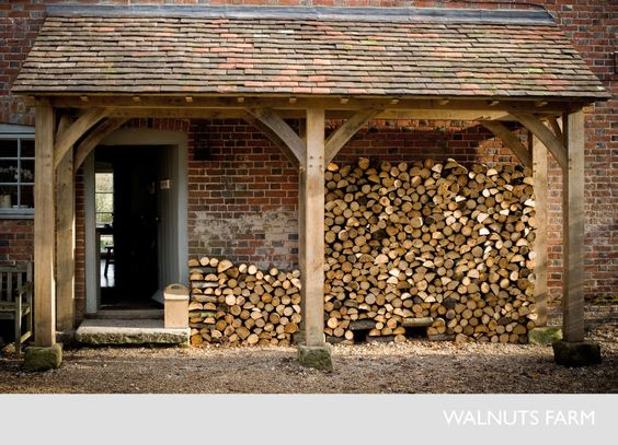 Walnuts farm the rustic shoot location house porch for Log and brick home