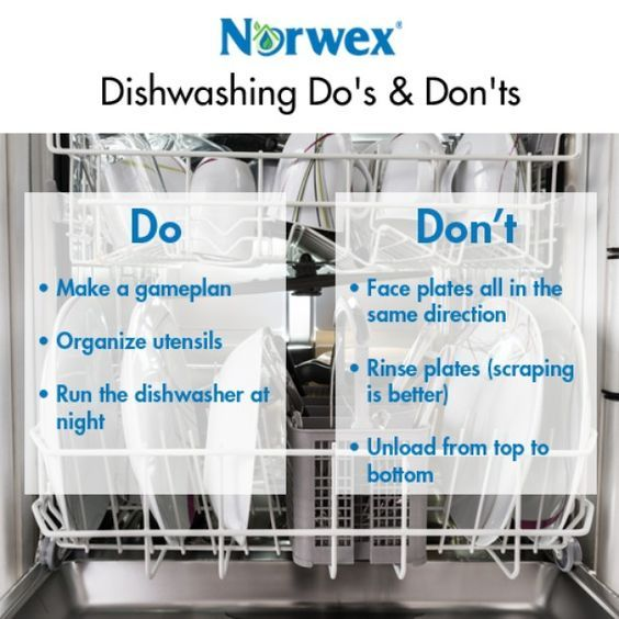 Dishwashing Do S And Don Ts Norwex Norwex Cleaning Norwex Microfiber