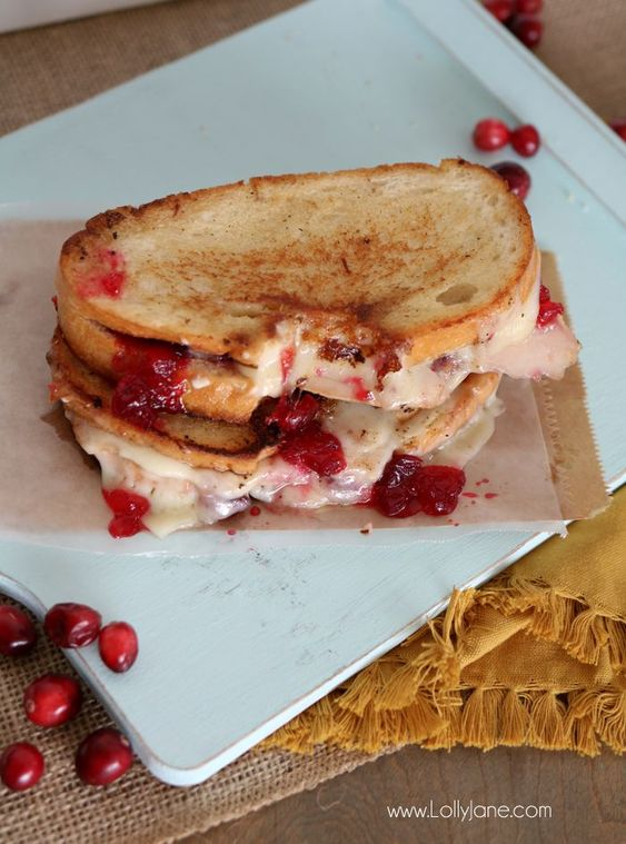Turkey Grilled Cheese Sandwich | Cream cheeses, Thanksgiving leftovers ...