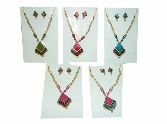 Trendy colorful and custom made earth jewelry for matching your outfit 6