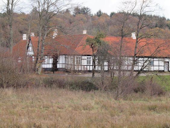 Buderupholm, tidligere hovedgård ved  Rebild Bakker