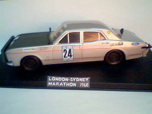 https://flic.kr/p/bUDyUY | FORD FALCON london-sydney rally 1968 | FORD FALCON GT Vaughan / Forsyth / Ellis scale 1/43