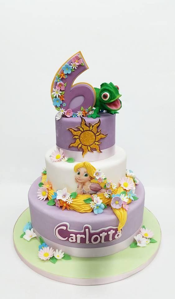 Remarkable Rapunzel Cake Best 25 Rapunzel Cake Ideas On Pinterest Rapunzel Funny Birthday Cards Online Alyptdamsfinfo