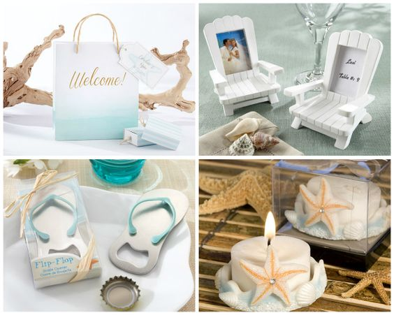 Beach Wedding Favors and Accessories -HotRef