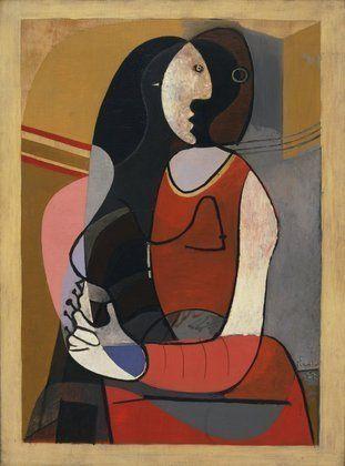 Pablo Picasso. Seated Woman. Paris, 1927