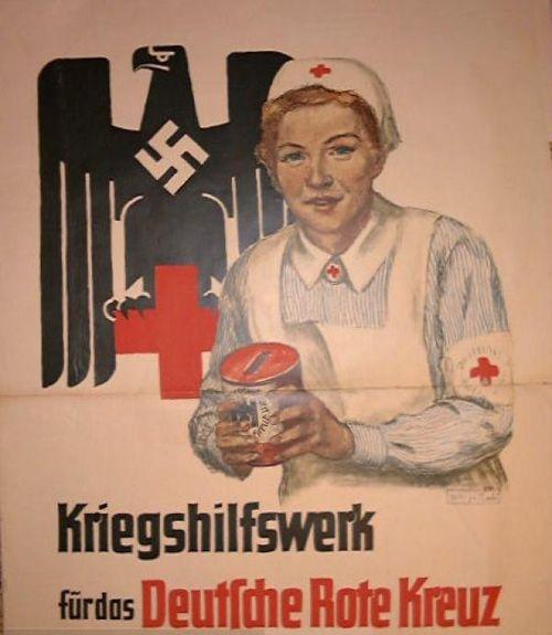 Deutsche Rote Kreuz (DRK), la tenue de l'aide soignante allemande 9ddca02dfe9b6042b6e4f9bfe9cdcf8e