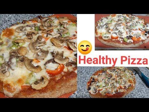 بيتزا لا تزيد الوزن بالشوفان فقط لذيذه وصحيه محسوبه السعرات Youtube Healthy Pizza Healthy Food