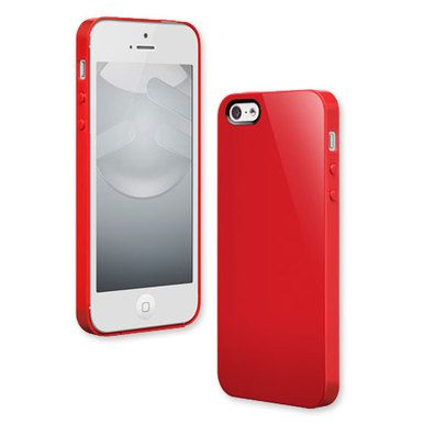 Switcheasy Nude Plastic Case for iPhone 5 - Red