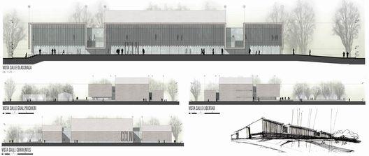 Segundo Lugar Concurso Nacional de Anteproyectos Centro Cultural de la Legislatura del Neuquén / Argentina,Vistas
