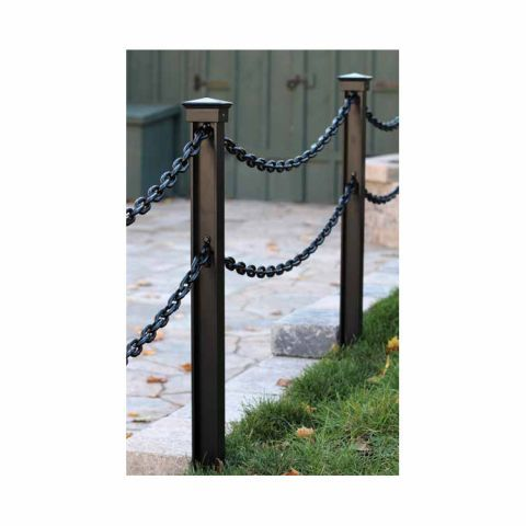 Snug Cottage Hardware Accessory Pack For Double Chain Chain Fence Diy Driveway Railings Outdoor