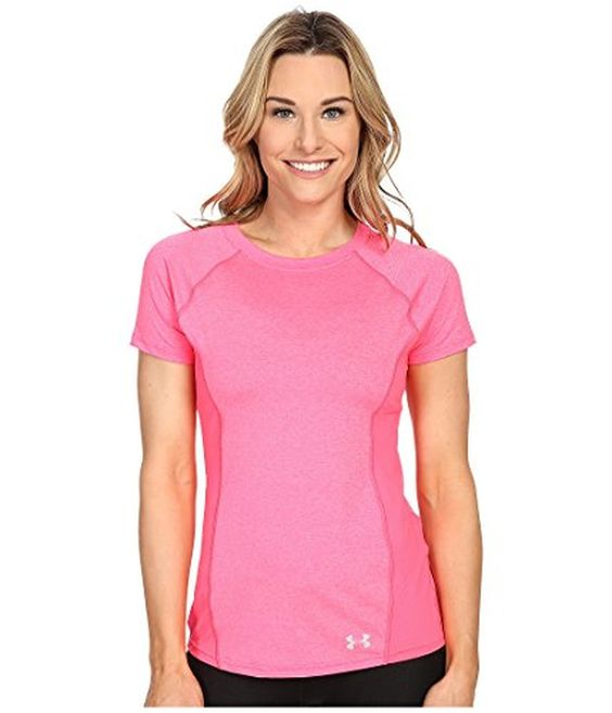 Under Armour Women's CoolSwitch Trail Short Sleeve Tee (X-Large, Harmony Red) | AMAZON.COM saved by #ShoppingIS