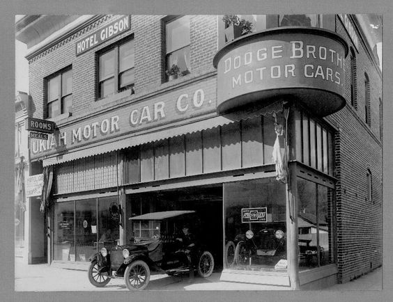 Dodge Dealership ....They Built Motors For Chevy..