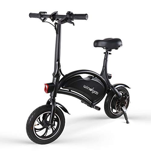 Windgoo Electric Scooter 12 inch 36V Folding E-bike with 6.0Ah ...
