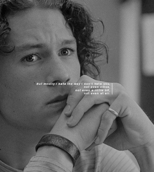 Pin By Rusty On Heath Ledger Movie Quotes Romantic Movies