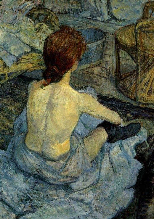 Puzzle Henri de Toulouse-Lautrec : Femme à sa Toilette, 1889 Grafika-00177 1000 pièces Puzzles - Art - Planet'Puzzles