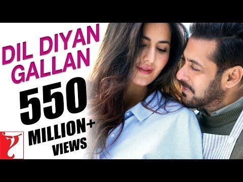 Dil Diyan Gallan Song Tiger Zinda Hai Salman Khan Katrina Kaif Atif Vishal Shekhar Irshad Youtu With Images Bollywood Music Videos Bollywood Movie Songs Songs