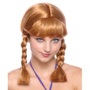 Perruque Blonde Cuivrée Tressée Femme
