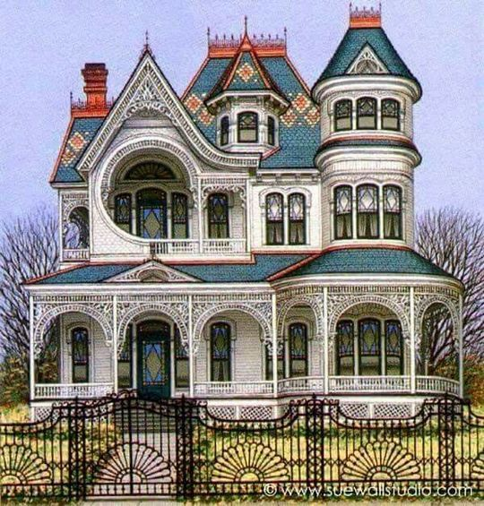 90 Coolest Victorian House Colors Ideas Choosing For Your Home Or Office Inspira Spaces Victorian House Colors Victorian Homes Mansions