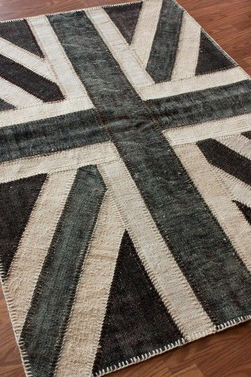 Gray Union Jack Rug Rugs Ideas