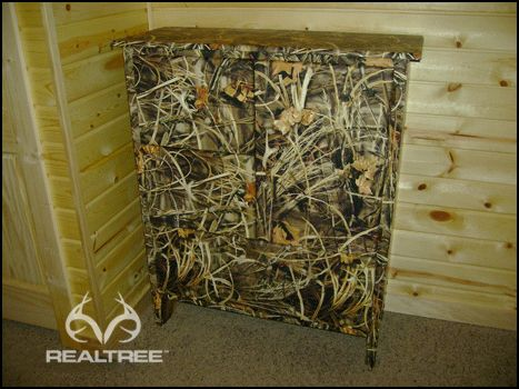 Realtree Max-4 Camo Cabinet - Robertson Family would love ...
