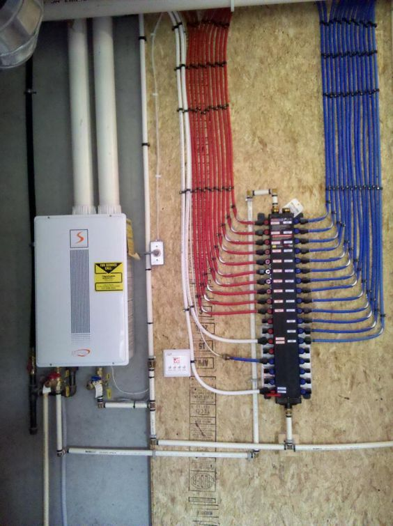 for Pex hot water heating system