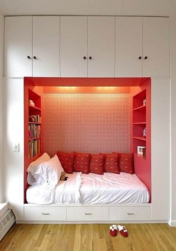 Awesome Storage Ideas For Small Bedrooms : Space Saving Storage Ideas For Small  Bedrooms U2013 Better Home And Garden | INTERIOR DESIGN | Pinterest | Space ...