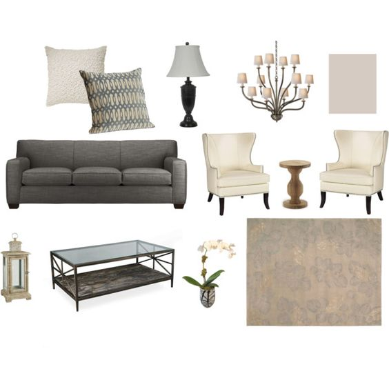 Grey/Neutral Living Room