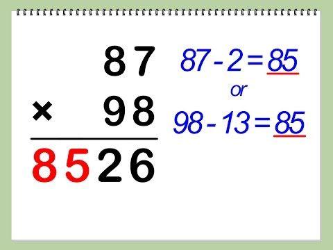 Vedic Maths Tricks For Fast Calculation 3 Youtube Math Methods Math Tricks Mental Math