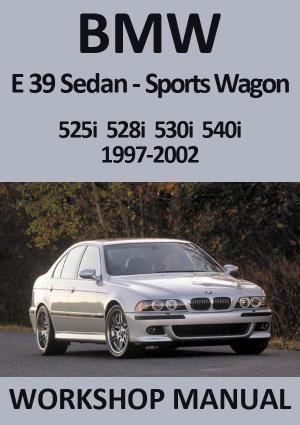 Bmw E39 525i 528i 530i 540i 1997 2002 Workshop Manual Bmw E39 Bmw Manual Car