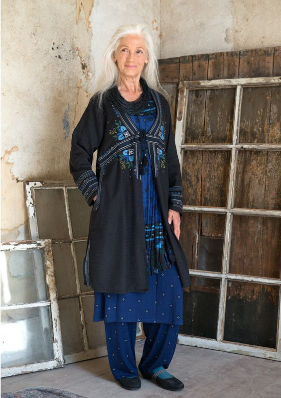 "Robemanteau ""Tintomara"" en coton/viscose–Prix club–GUDRUN SJÖDÉN – Kläder Online & Postorder"