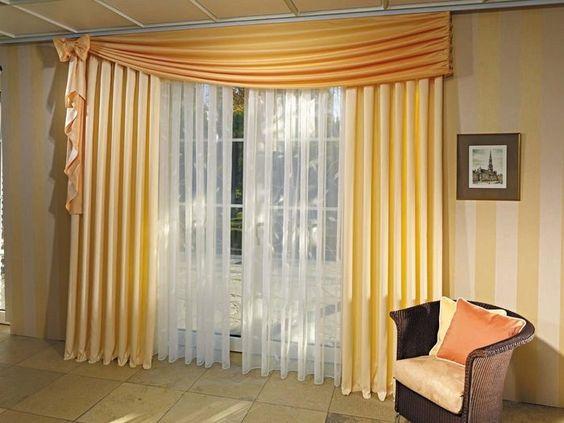 Cortinas para salas peque as sencillas buscar con google - Cortinas con estilo ...