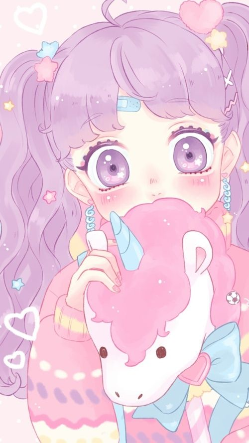 Animals Anime Art Girl Baby Girl Background Beautiful Beautiful Girl Beauty Blue Cartoon Colorful Cu Kawaii Illustration Kawaii Art Kawaii Wallpaper