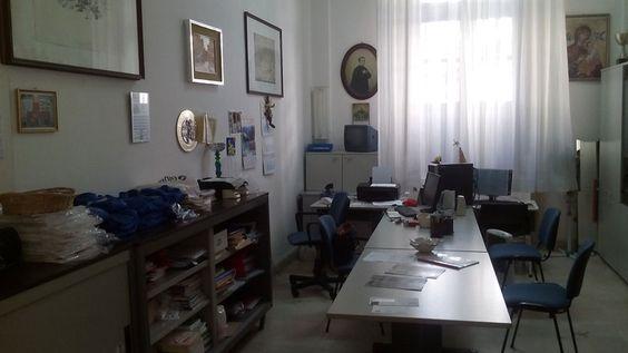 La segreteria della Scuola San Domenico Savio.