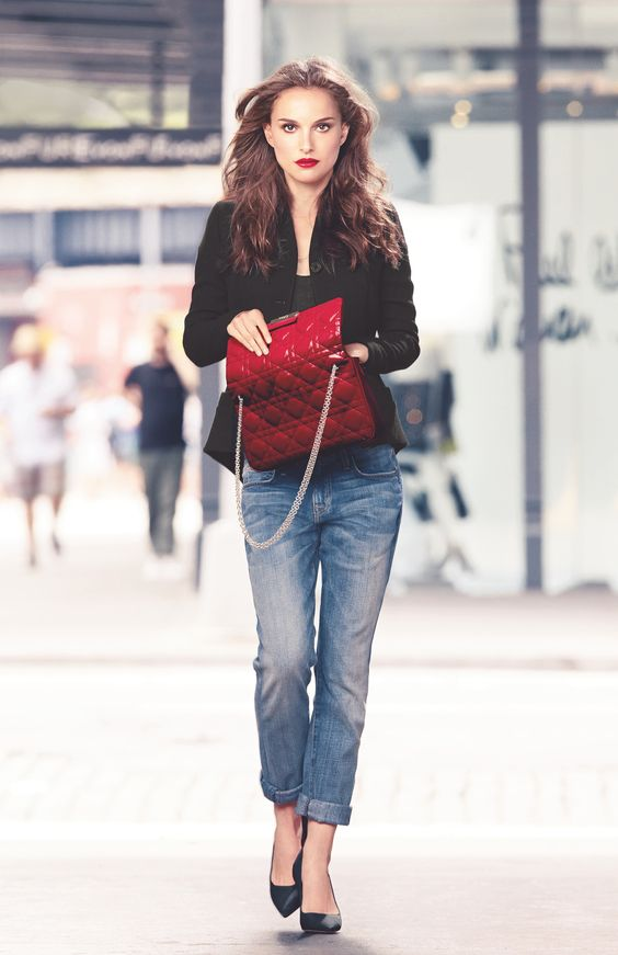 Natalie Portman for Rouge Dior Brillant Campaign